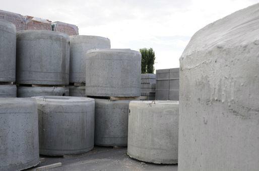betonproducten, betonnen platen